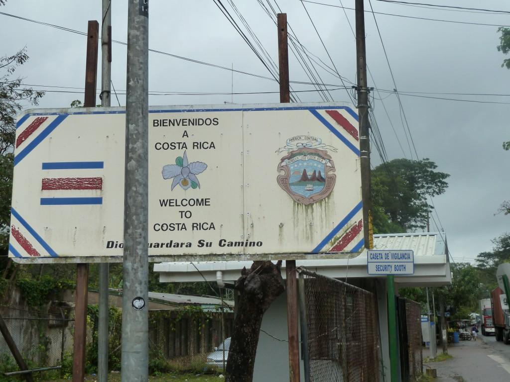 Entering Costa Rica!