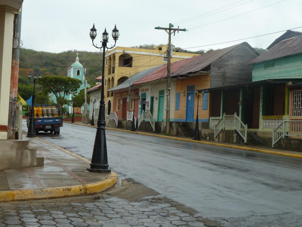 San Juan del Sur, Nicaragua -- Love the colors of the buildings!