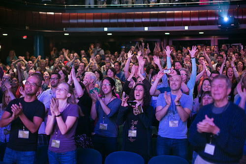 The crowd at WDS in Portland. (Photo credit: Armosa Studios)
