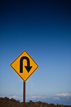 Ever feel like you should make a u-turn?