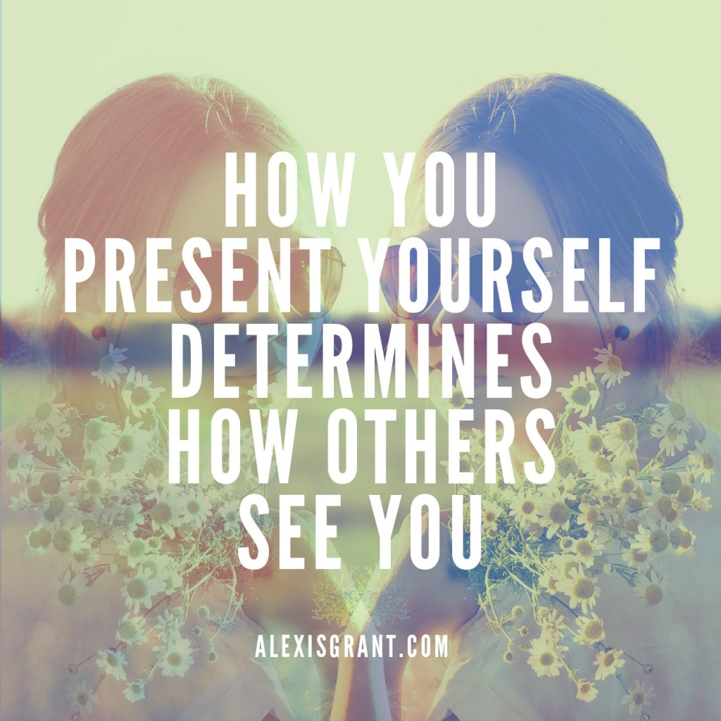 Image: How you present yourself