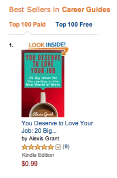 Image: You Deserve to Love Your Job Amazon #1 Ranking in Career Guides