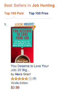 You Deserve to Love Your Job Amazon #1 Ranking in Job Hunting