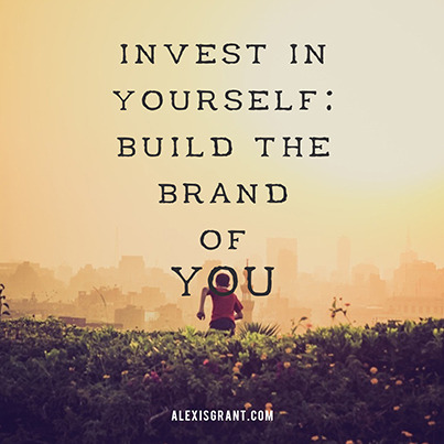 Image: Invest in yourself: build the brand of you