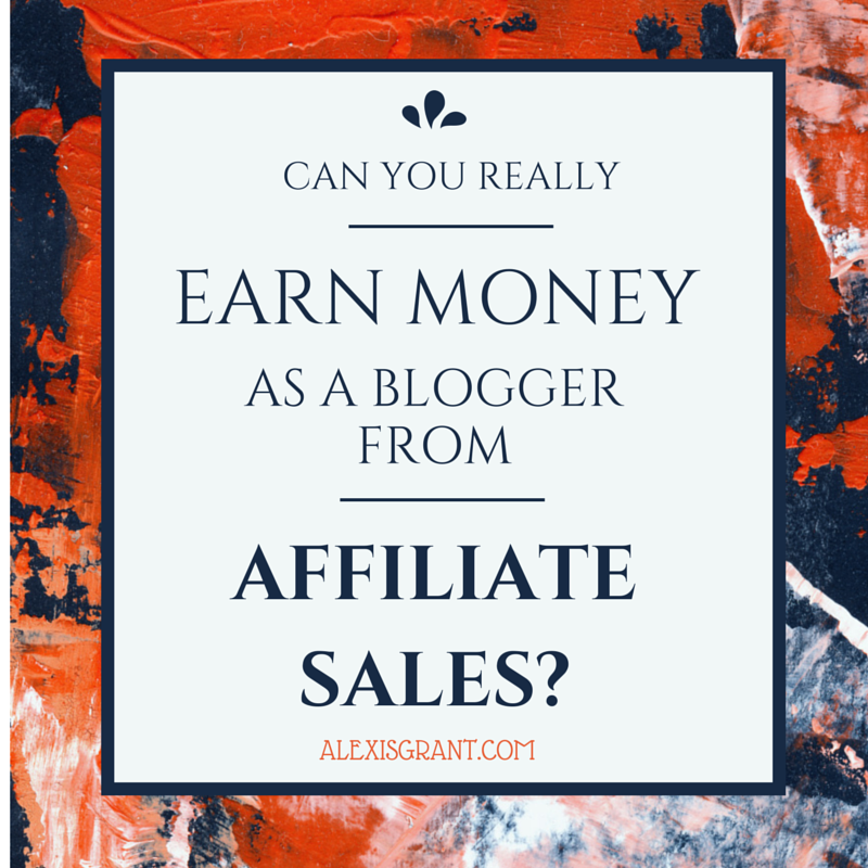 Earn Money With Affiliate Sales