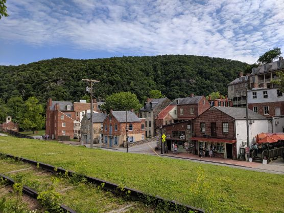 Harpers Ferry, lower town